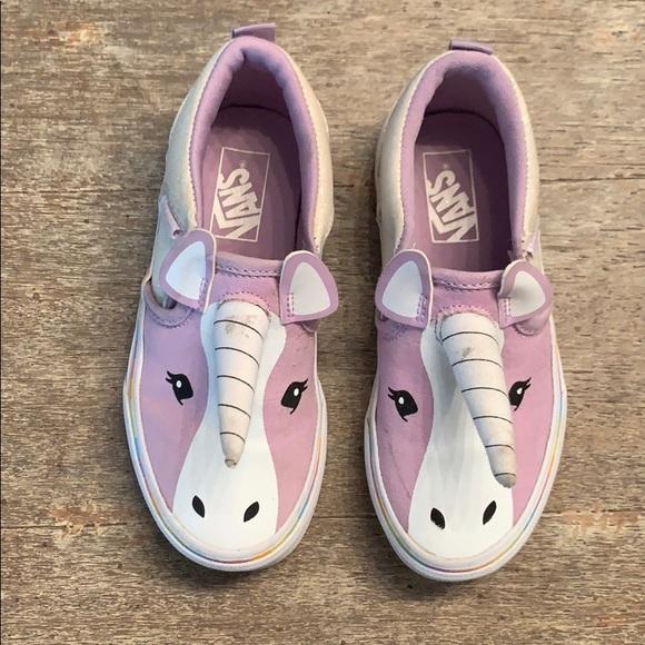 Vans Shoes   Girls Unicorn Vans Size 2